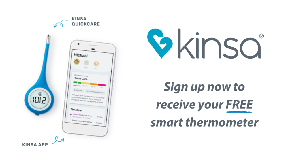 Sign up now to receive your FREE smart thermometer